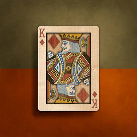 King of Diamonds in Wood - YoPedro
