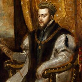 King Philip II of Spain  - Titian
