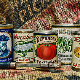 Paul Ward - Kitchen - Vintage Food Cans