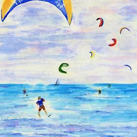 Jamie Frier - Kite Surfer