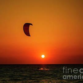 Kite surfing - Jelena Jovanovic