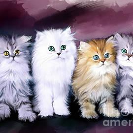 Kitten Family - Melanie D