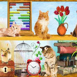 L Wright - Kitten Hideout