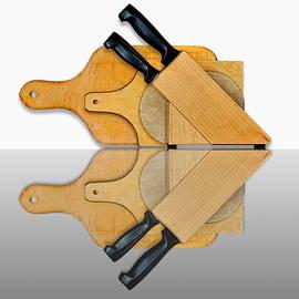 Joe Bonita - Knife Block and Cutting Boards