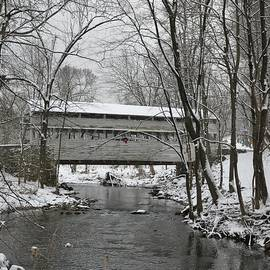 Bill Cannon - Knox Valley Forge Covered Bridge in Winter