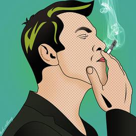 kobi borisi   smoking man  - Mark Ashkenazi