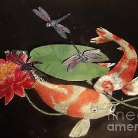Maria Elena Gonzalez - Koi And Dragonflies
