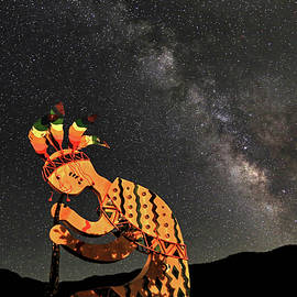 Donna Kennedy - Kokopelli and the Milky Way