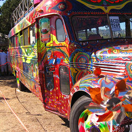 Kym Backland - Kool Aid Acid Test Bus