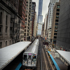 James Udall - L Train Station in Chicago