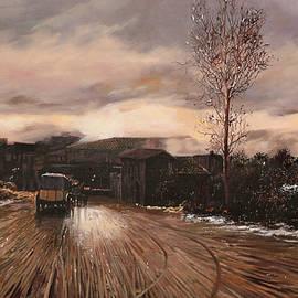 la diligenza - Guido Borelli