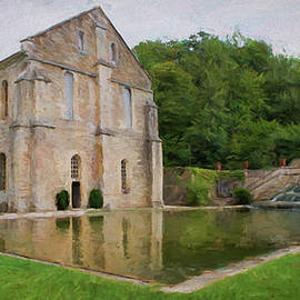 Jean-Pierre Ducondi - La Forge - Abbaye de Fontenay - France