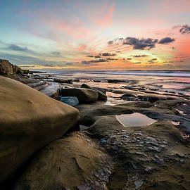 Alexander Kunz - La Jolla - Christmas Eve Sunset at Hospital Point