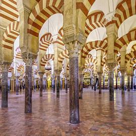 Tony Crehan - La Mezquita Interior - Cordoba - Spain
