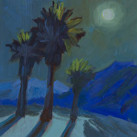 La Quinta Cove and Moonlight - Diane McClary