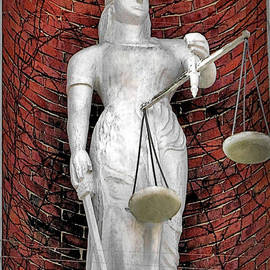 Janice Drew - Lady Justice 1820 Plymouth County Courthouse