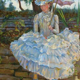 Dominique Amendola - Lady with a parasol