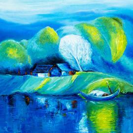 Boyan Dimitrov - Lake and boat