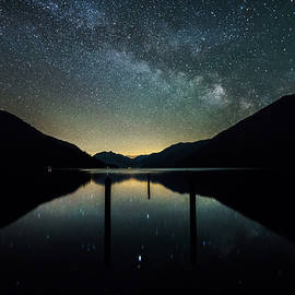 Bun Lee - Lake Crescent Stargazing