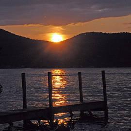 Cindy Lee Longhini - Lake George New York Sunset