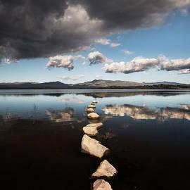 William Dunigan - Lake Henshaw Clouds