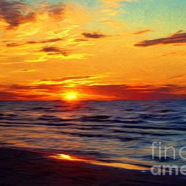 Barbara McMahon - Lake Huron Sunset