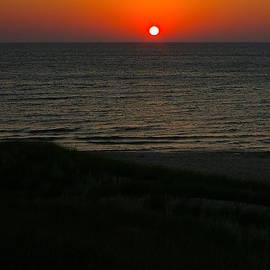 Randy Pollard - Lake Michigan Sunset