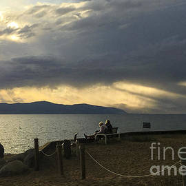 Leslie Hunziker - Lake Sunset