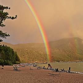 Randy Dyer - Lake Tahoe Rainbows