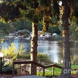 Judyann Matthews - Lake View In Fall