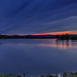 John Vose - Lake Waramaug Sunset Panorama