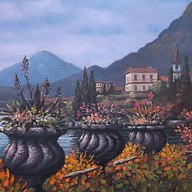 Sean Conlon - Lakefront Garden Italy
