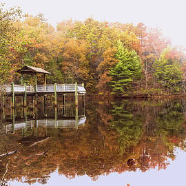 Debra and Dave Vanderlaan - Lakeside Autumn