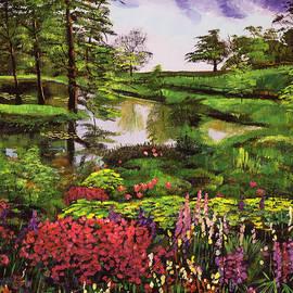 David Lloyd Glover - Lakeside Garden