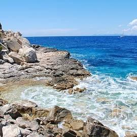 David Fowler - Lakka coastline on Paxos