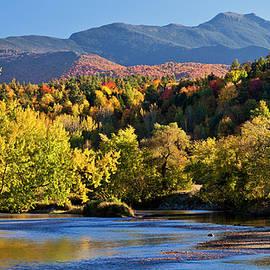 Alan L Graham - Lamoille River Autumn View
