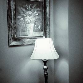 John Myers - Lamp, Table, And Painting B