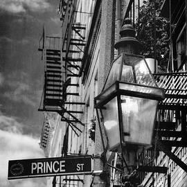 Joann Vitali - Lamppost on Prince Street - North End - Boston