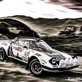 Ant Jones - Lancia Stratos - I Was Lucky Enough To