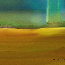 Lenore Senior - Landscape with a Chance of Rain 2