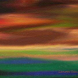 Lenore Senior - Landscape with Crow