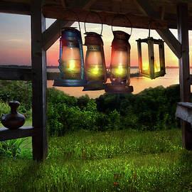 Debra and Dave Vanderlaan - Lanterns at Nightfall