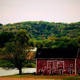 R A W M   - Large Barn and Pond