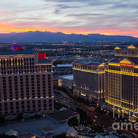 Nick  Boren - Las Vegas Sunset
