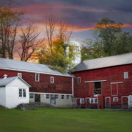 Susan Candelario - Last Light At The Red Barn