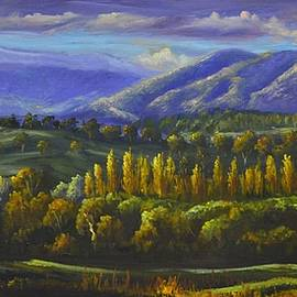 Christopher Vidal - Last Light on Tumut Valley