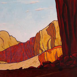 Joe  Triano - Late Afternoon in Navajo Lands