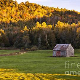 Alan L Graham - Late Day Autumn Landscape