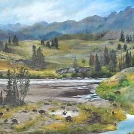 Lori Brackett - Late Summer in Yellowstone