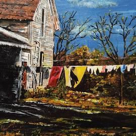 Vicki Caucutt - Laundry Day
